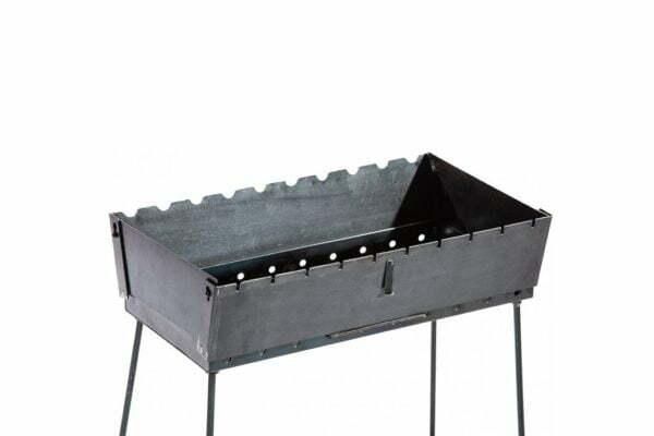 Мангал чемодан из стали Металл-завод