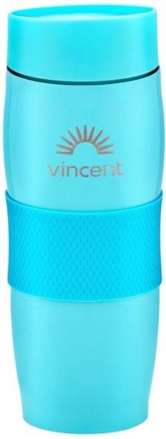 Кружка-термос 0,35 л нержавеющая сталь Vincent Electric Blue VC-1527EB купить недорого онлайн