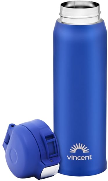 Термобутылка Vincent коррозионностойкая сталь Ultramarine 480 мл VC-1529U низкая цена