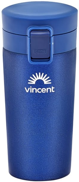 Кружка-термос Vincent Royal Blue 350 мл коррозионностойкая сталь VC-1528RB купить недорого онлайн