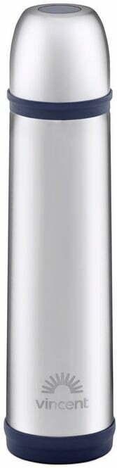 Термос с крышкой чашкой Vincent Midnight Blue 1 л VC-1525-10MB купить недорого онлайн