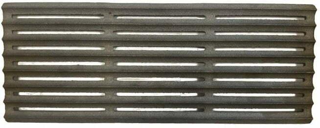 Решётка гриль чугунная Металл-завод 40х15х2 см РГ3 характеристика
