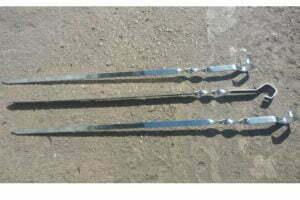 Шампур ровный 550 мм Металл-завод Ш2-5