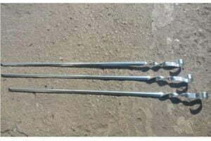 Шампур уголок 55 см Металл-завод Ш1-5