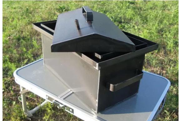 Коптильни Металл-завод для 460х260х270 с гидрозатвором 1,5 мм К1,5-10Г