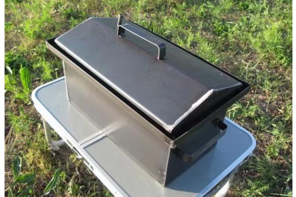 Коптильни для 460х260х270 с гидрозатвором 1,5 мм К1,5-10Г