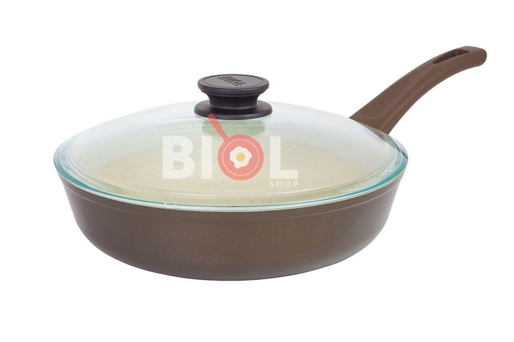 6. Сковорода антипригарная 22 см Классик-Декор Биол 22077ПС