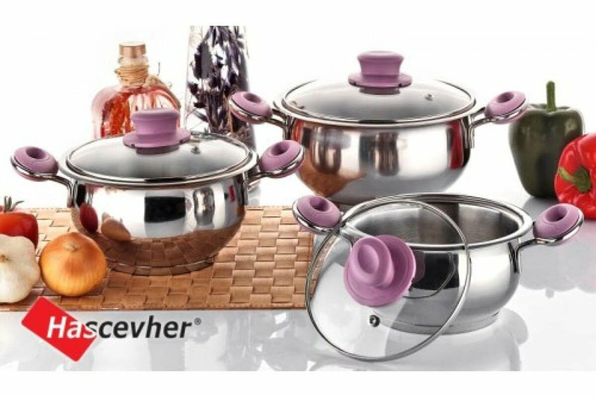 3. Набор посуды Begonya Milenyum 3 предм. Home perfect 4STCKK0006015