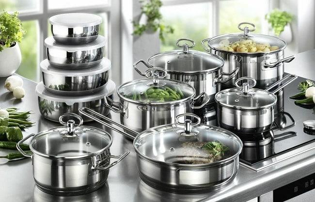 Особенности посуды из нержавеющей стали