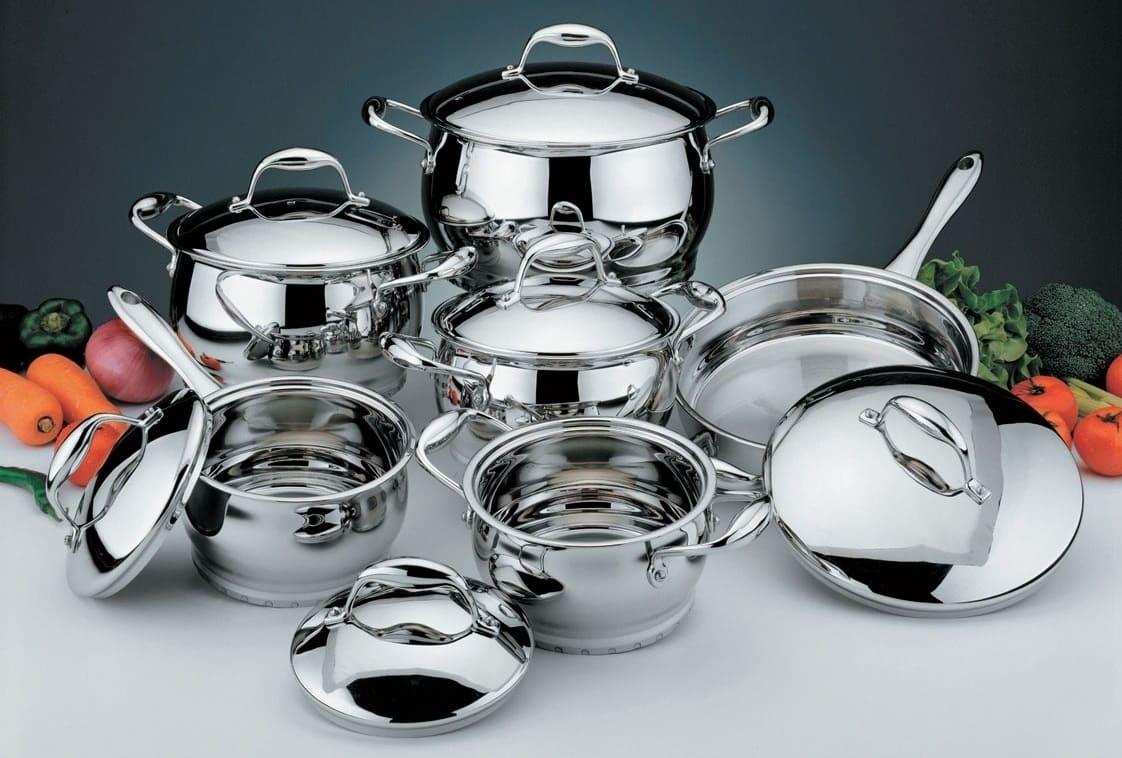 ТОП 3 набора посуды из нержавеющей стали