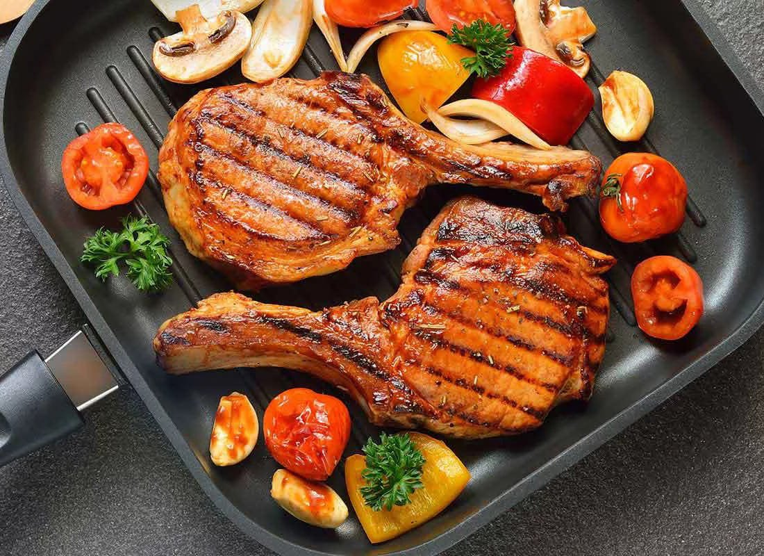 Лучшая сковорода гриль – как выбрать
