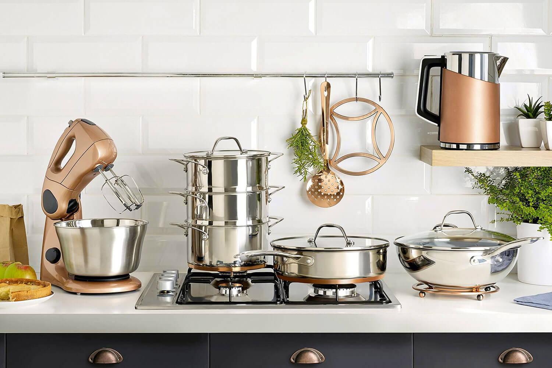 Какой набор посуды для приготовления пищи необходим на кухне