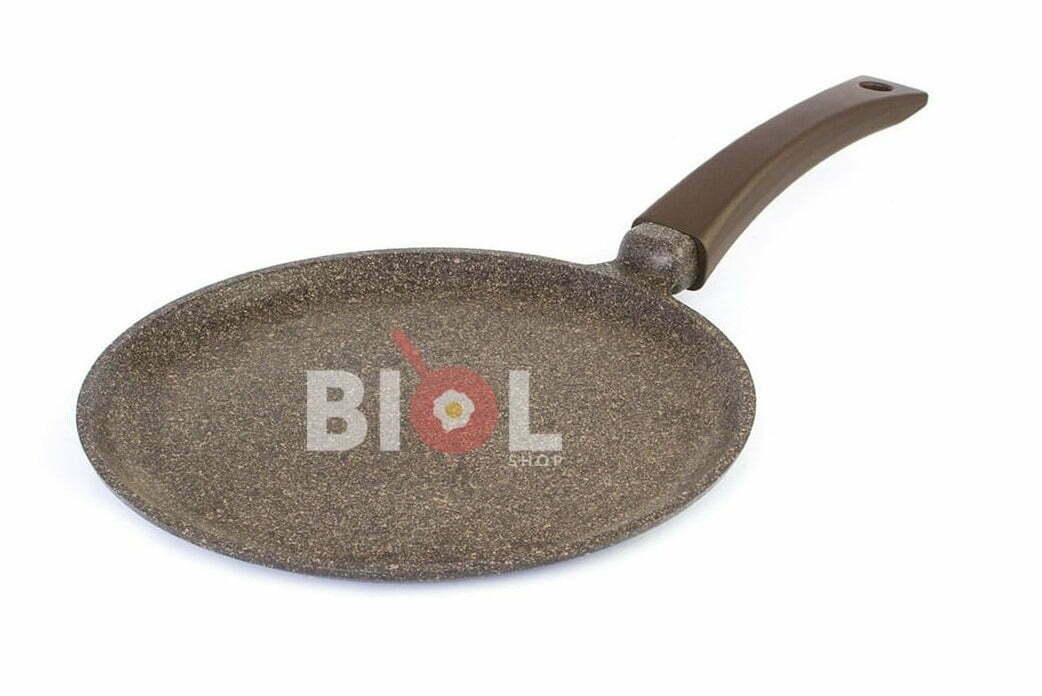 1. Сковорода блинная индукционная 26 см антипригарная Биол 26083И