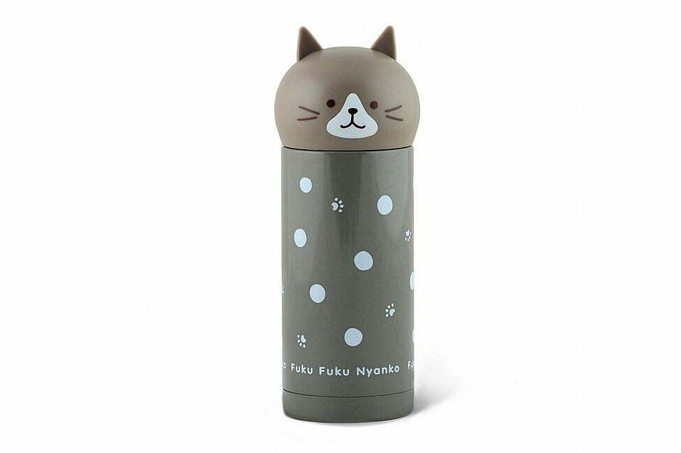 7. Термос детский Fissman котенок серый 250 мл VA-9689.250