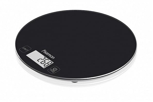 8. Кухонные весы электронные 18х1.5 см Fissman EL-0321.KS